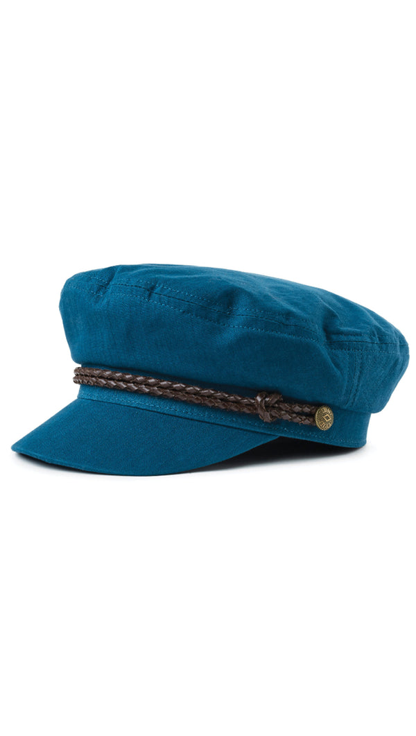 Brixton Teal Fisherman Cap