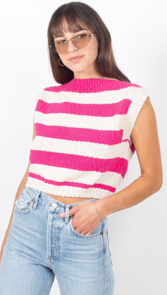 Marnie Top - Hot Pink