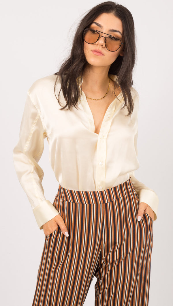 Capulet Ivory Button Down Shirt