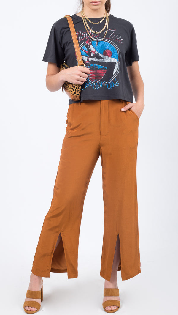 Capulet Orange/Tan Split Trouser Pant