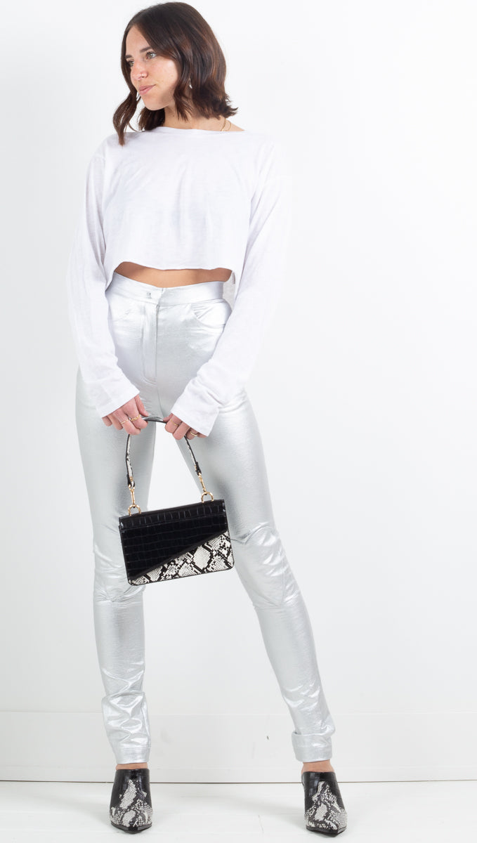 Sheath Pants - Silver