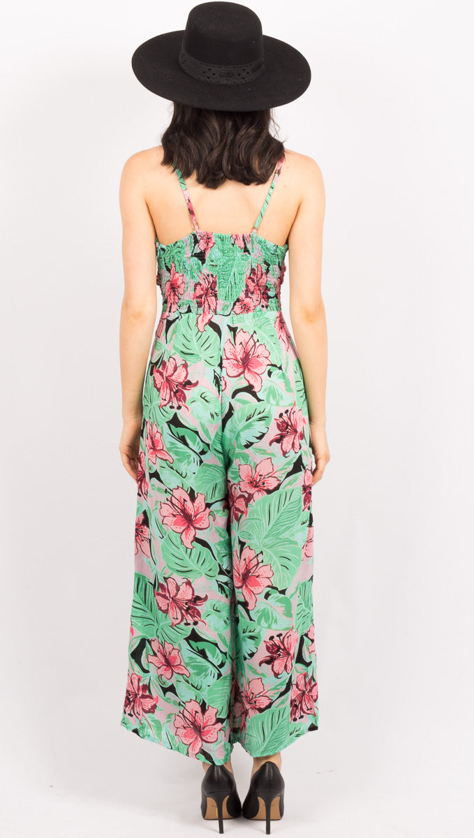 Angelina Jumpsuit - Jungle Haze