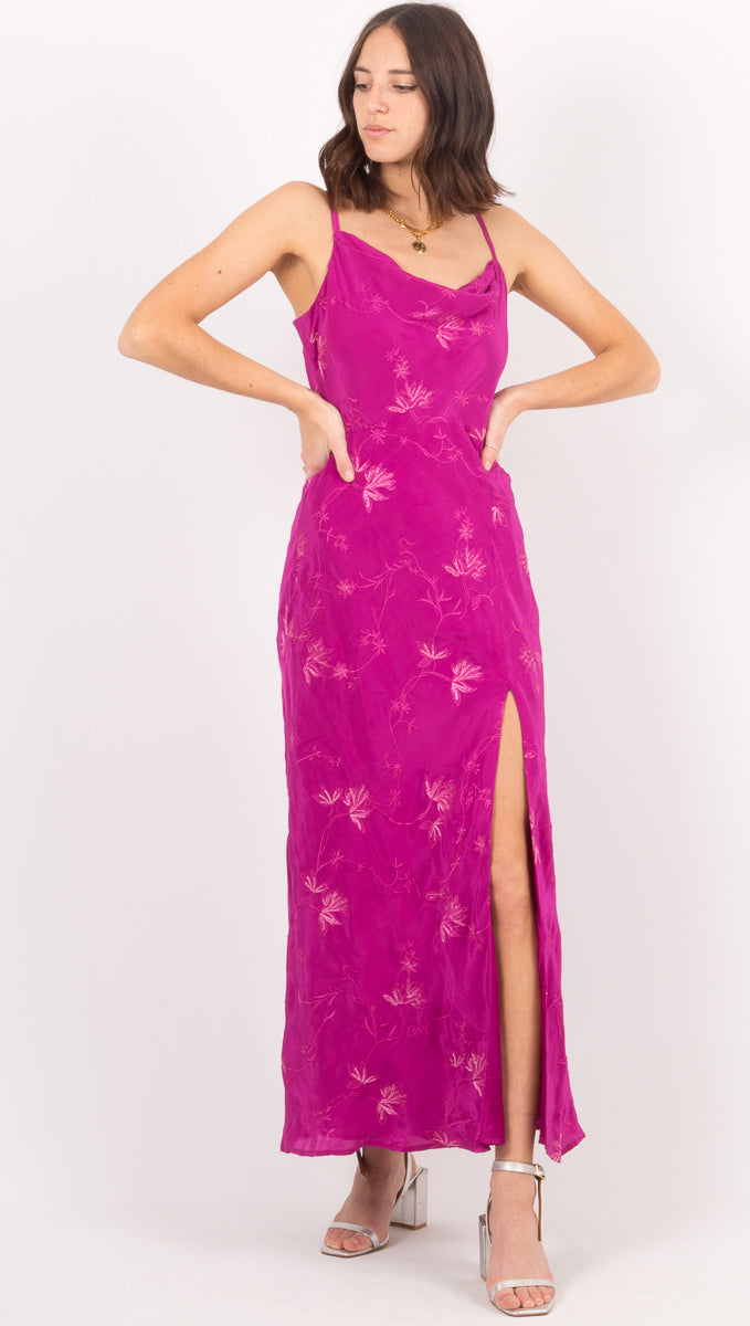 Josie Dress - Fuchsia