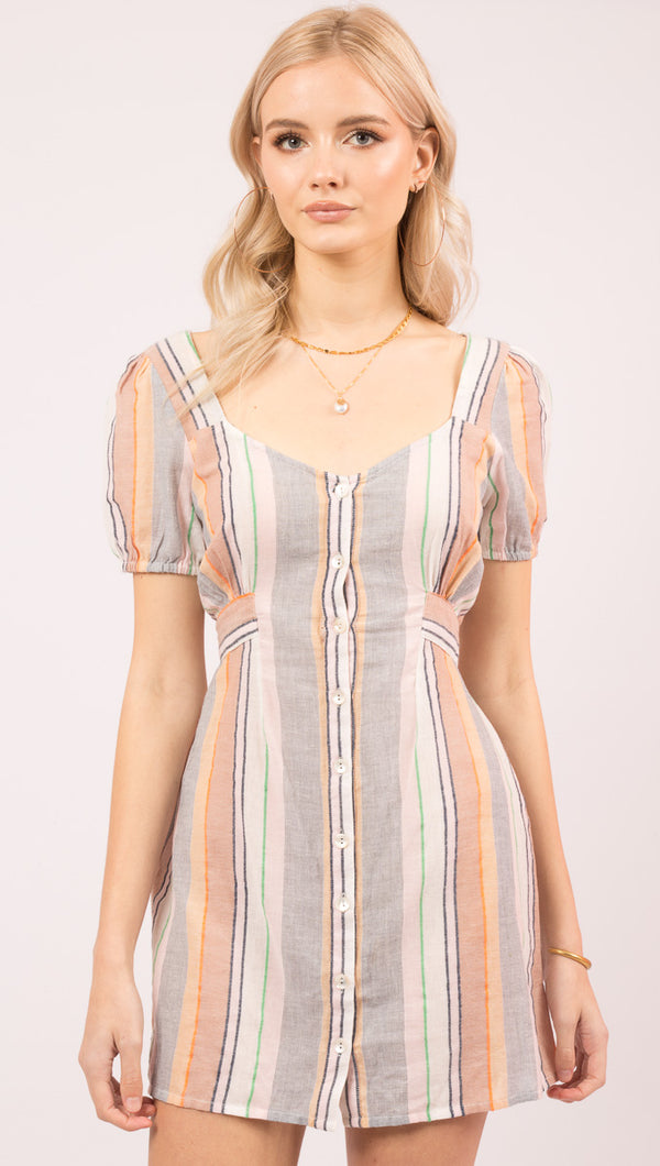 Opal Dress - Stripe