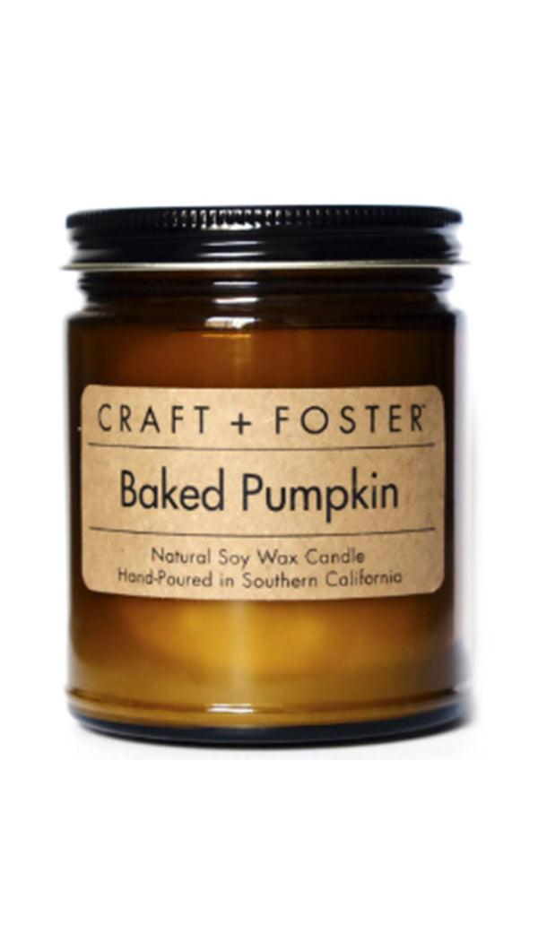 Craft And Foster Baked Pumpkin Candle