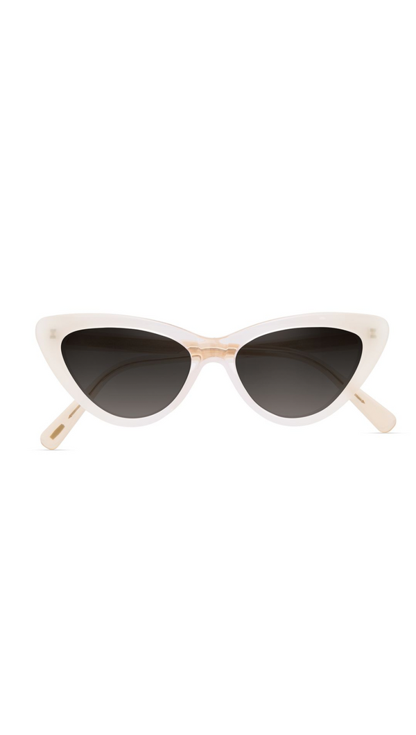 White/Pink Gradient Cat Eye Sunglasses