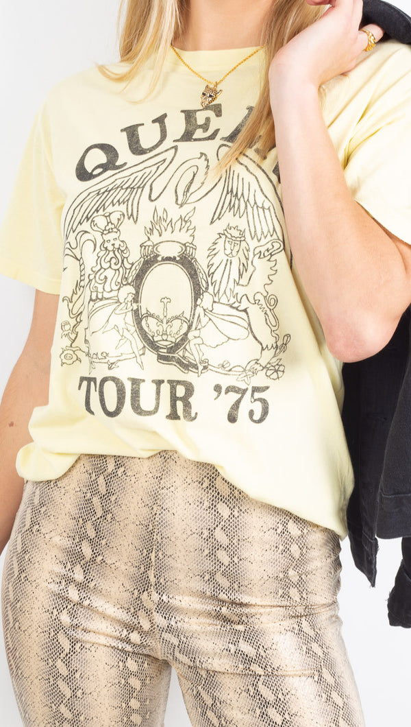 Daydreamer Yellow Queen Graphic Tee