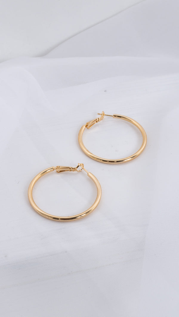 Essential Hoops - Gold Dipped