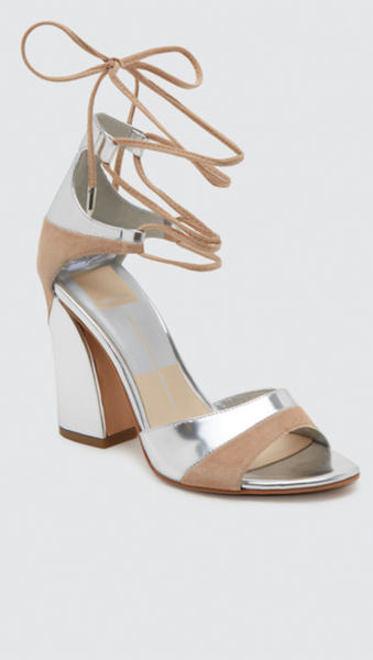Haro Heels - Silver Multi Leather