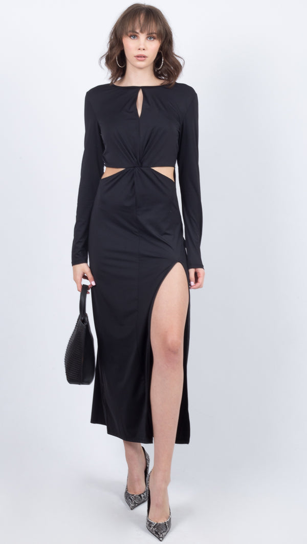 Cassia Gown - Black