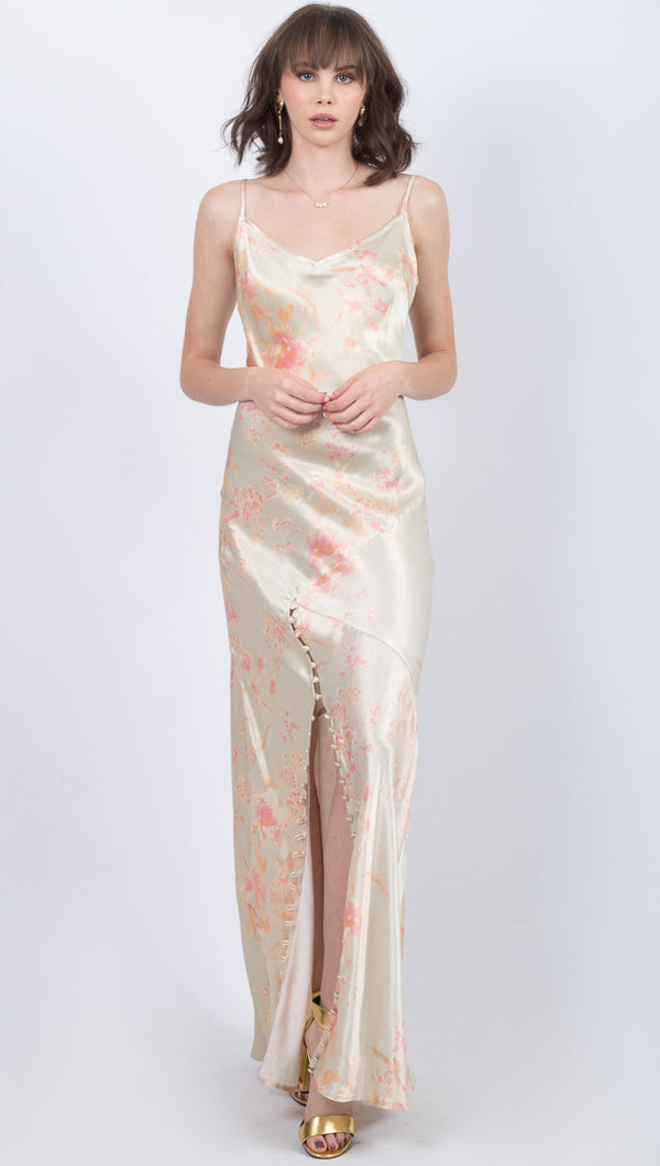 Poppy Gown - Ivory Floral