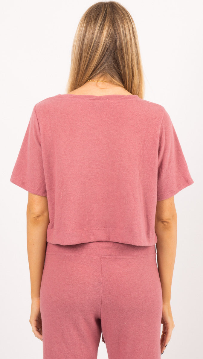 Helm Tee - Pink Soft