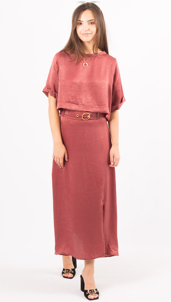 Brinkley Skirt - Rose