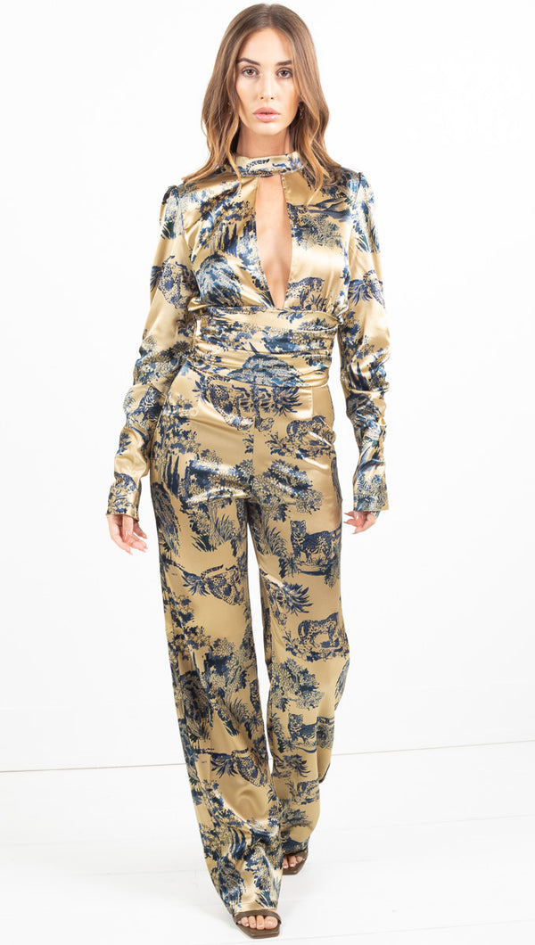 Ashley Jumpsuit - Animal
