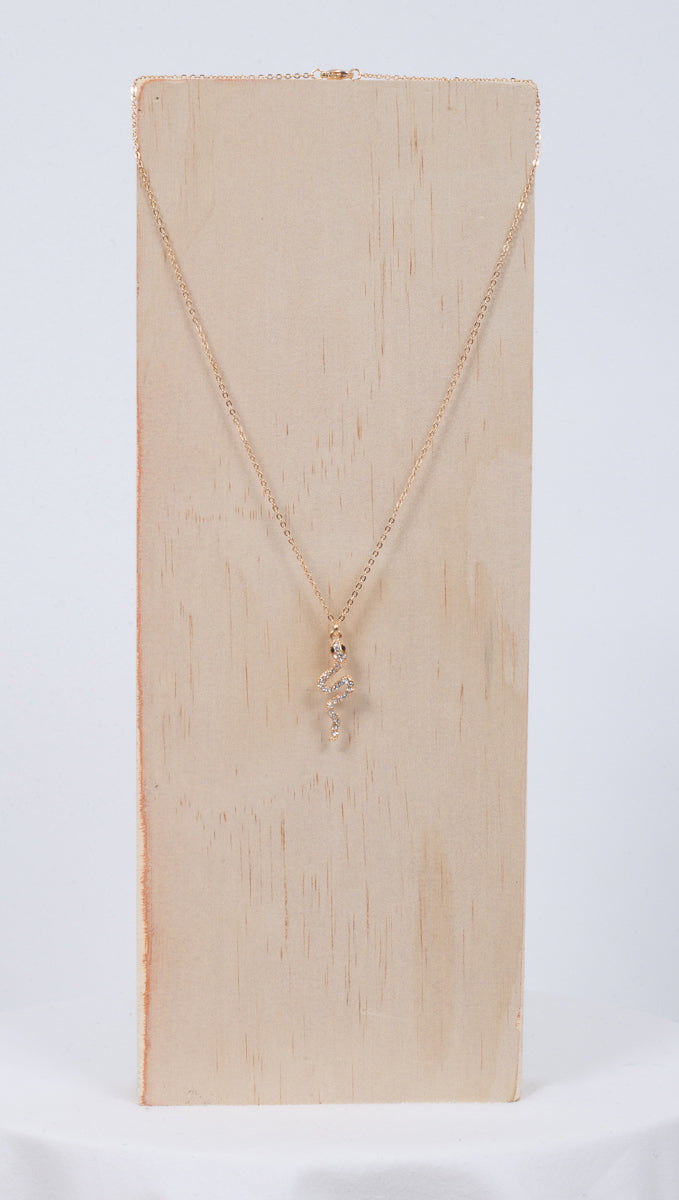 Snake Charmer Necklace - Gold