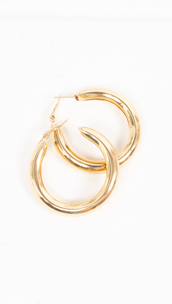 Audrina Chunky Hoops - More Colors