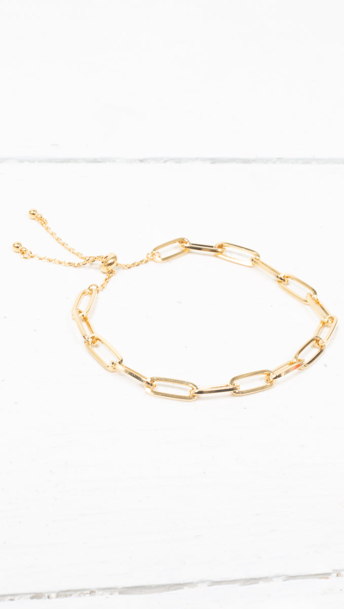 Everyday Chainlink Bracelet - Gold Dipped