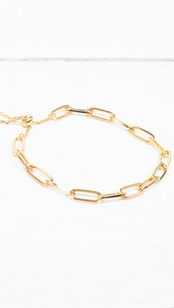 étoile Gold Dipped Chunky Chain Bracelet