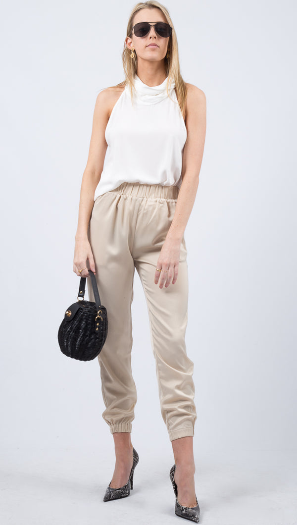Celine Pants - Light Beige