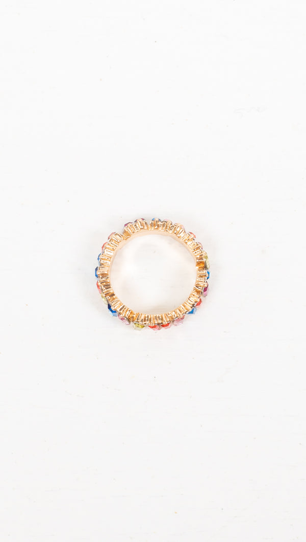 Colette Rainbow Ring - Gold