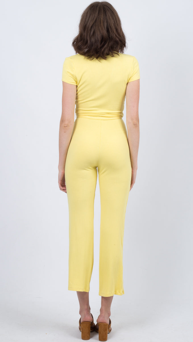 Eva Jumpsuit - Lemon