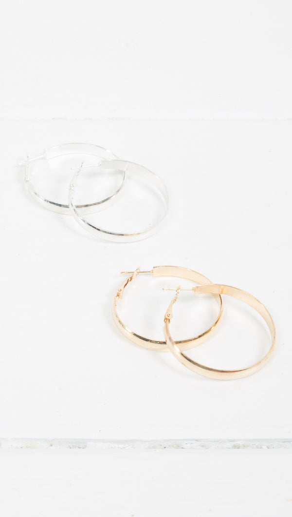 Grace Hoops - More Colors