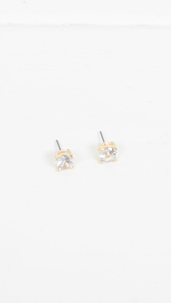 Etoile Gold Stud Earrings