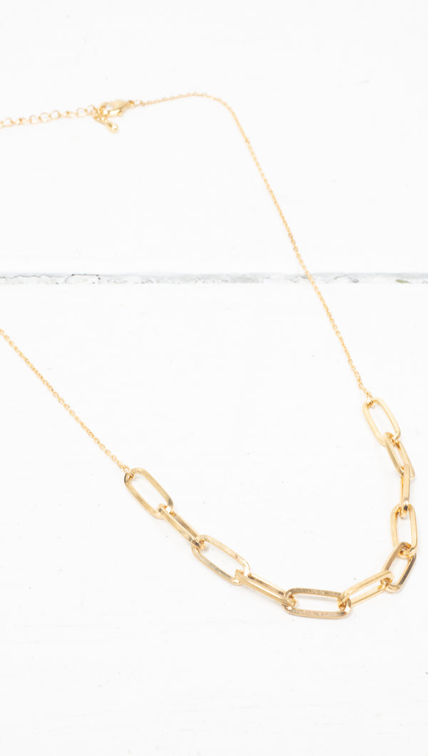 Kenzie Chain Necklace - Gold Dipped