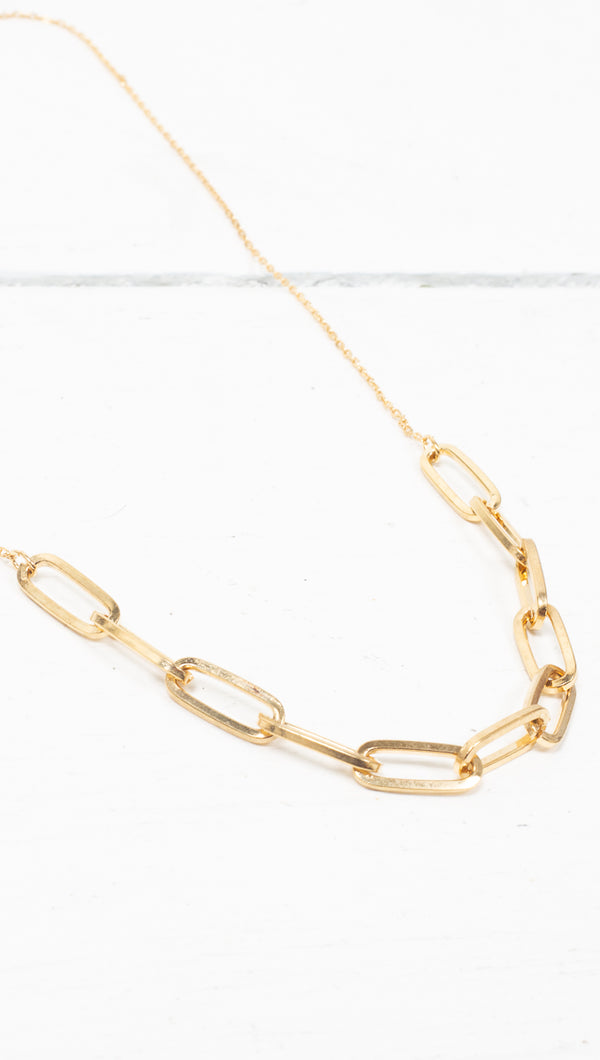 étoile Gold Partial Thick Chunky Chain