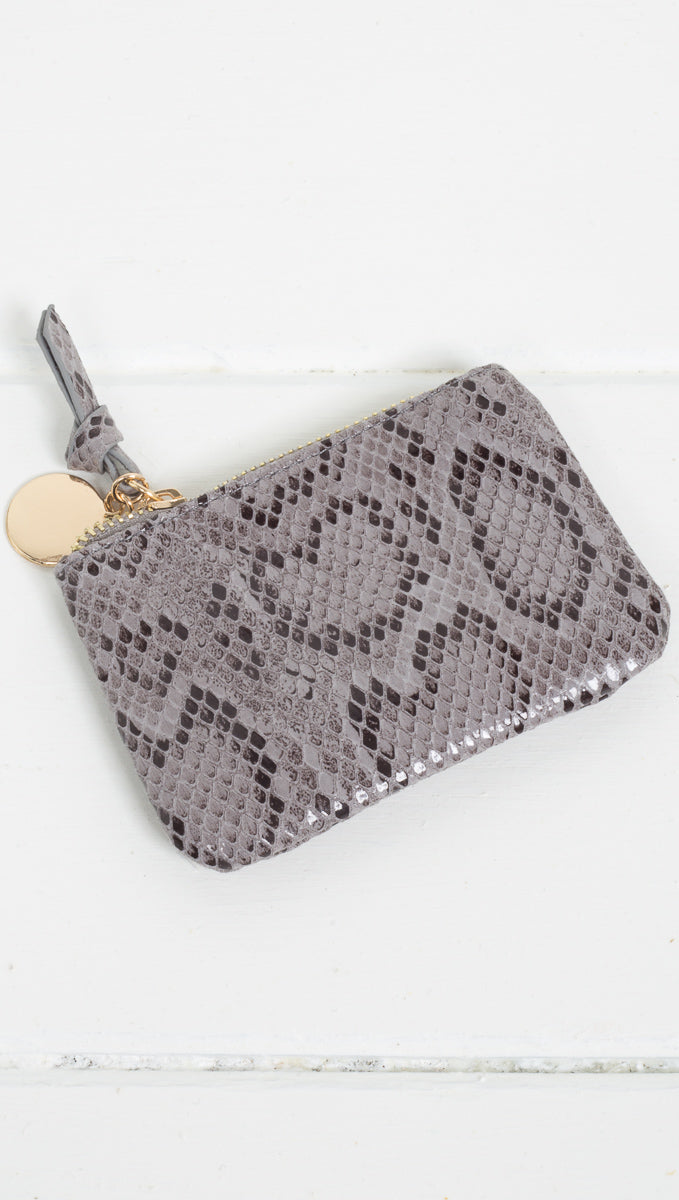 Snake Zip Pouch - More Colors