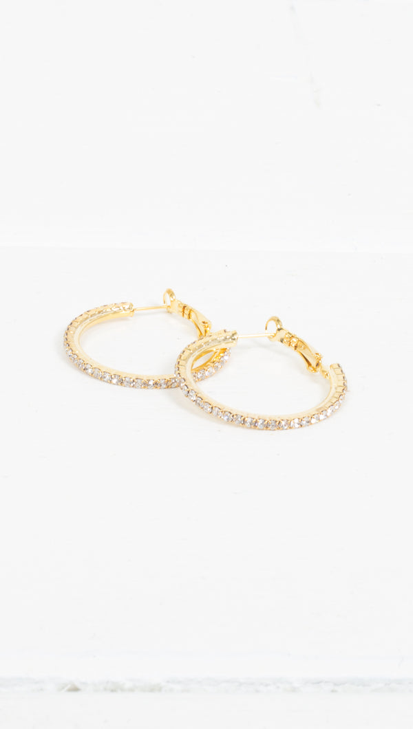 Victoria Pave Hoops
