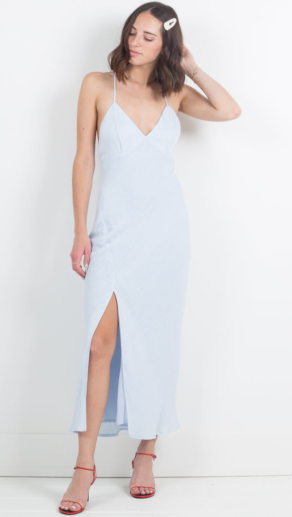 Isabelle Maxi Dress - Blue