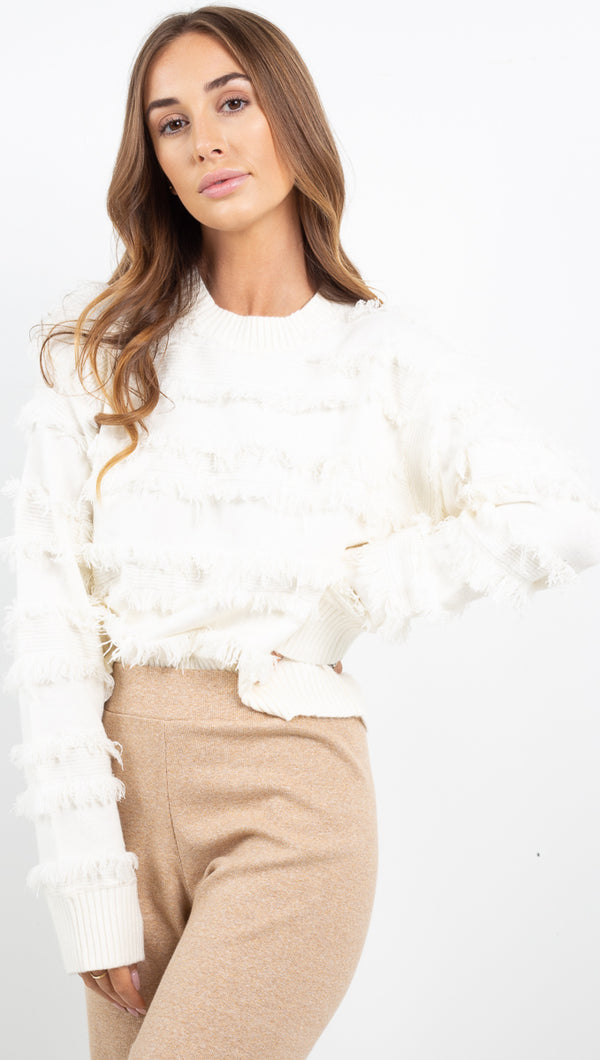 Arlington Sweater - Ivory