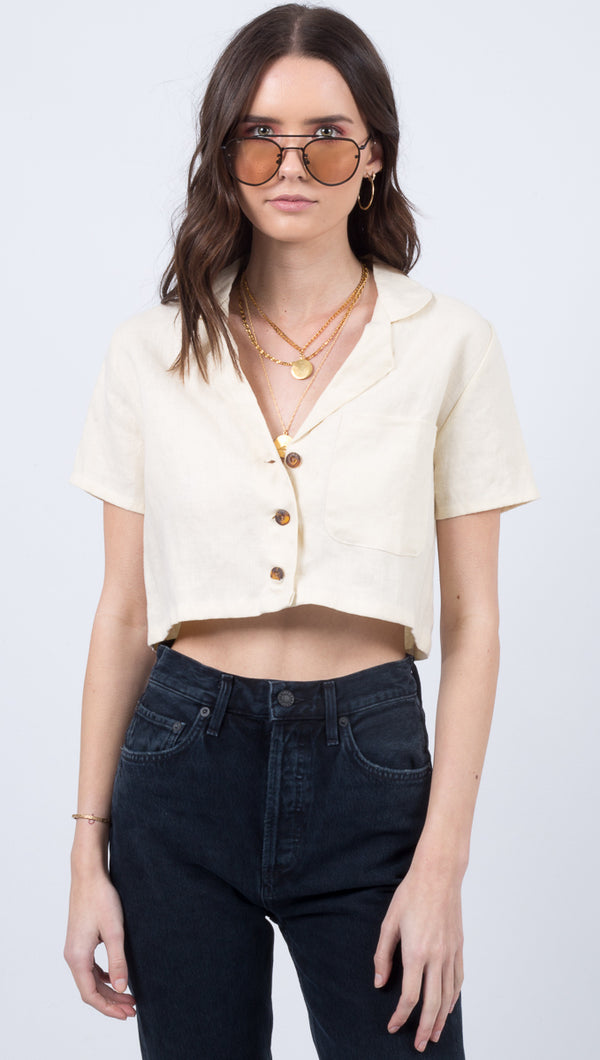 Uma Shirt - Plain Cream