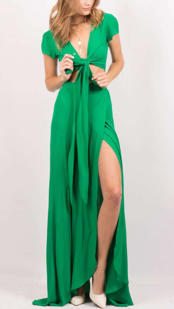 Wrap It Up Skirt - Jolly Green