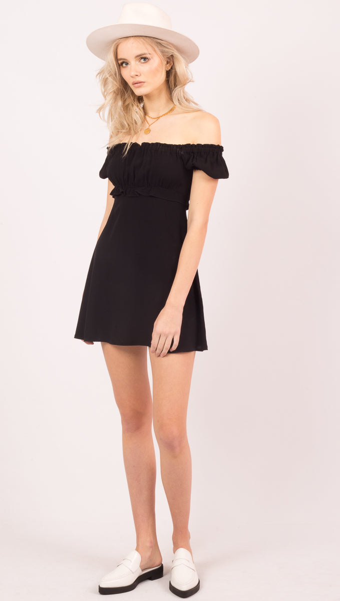 Lou Mini - Black Rayon