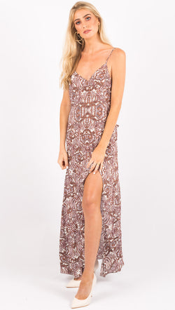 For Love And Lemons Floral Maxi Dress