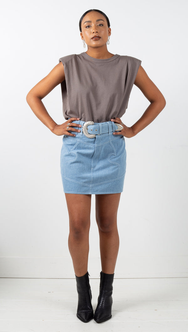 Josephine Skirt - Denim