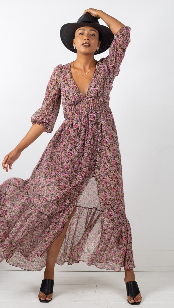 Sadie Maxi Dress - Ditsy