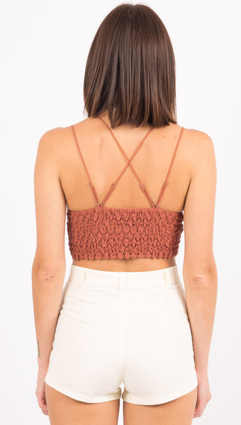 Adella Bralette - Copper