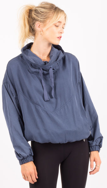 Free People Blue Pullover
