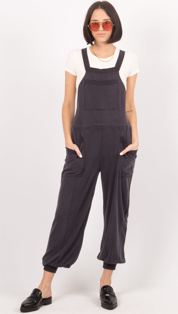 Jump Start Jumpsuit - Black