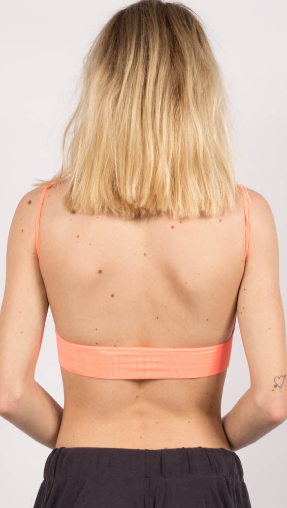 Low Back Bra - Orange