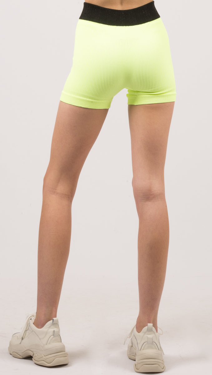 Prajna Neon Short - Yellow