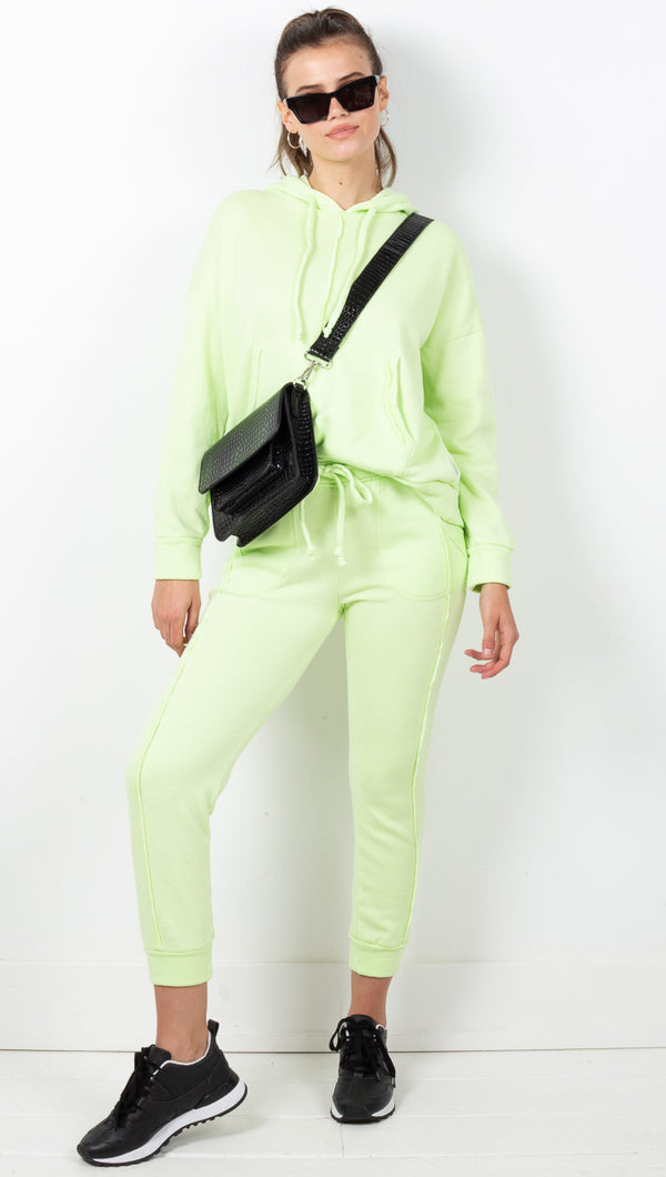 Work It Out Jogger - Lime