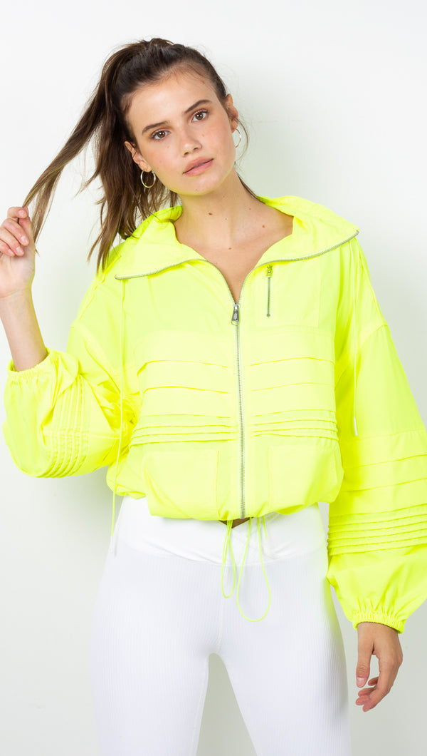 Check It Out Jacket - Yellow