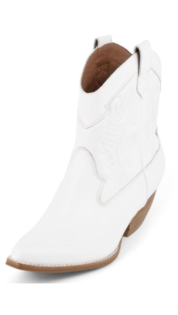 Jeffrey Campbell White Cowboy Boots