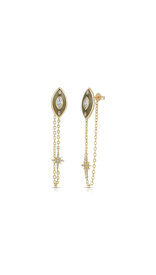 Siren Drop Earring