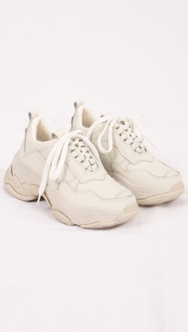 Jeffrey Campbell Off White Chunky Sneakers