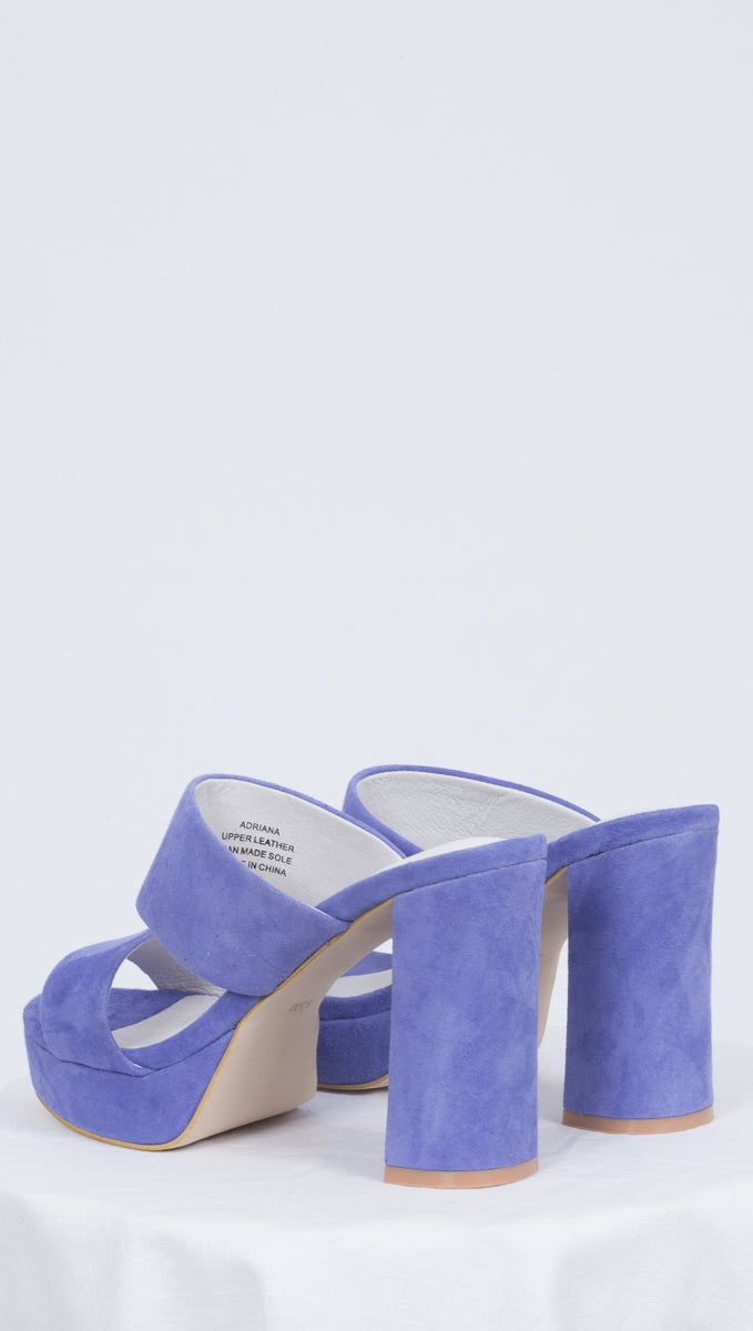 Adriana - Periwinkle Suede